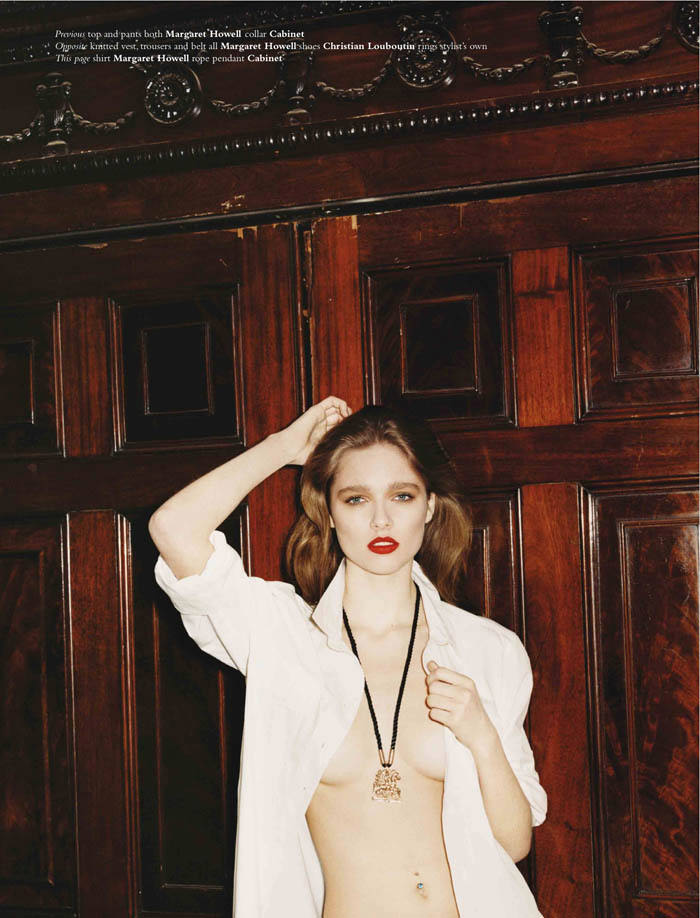 Beegee Margenyte by Greta Ilieva for Exit Magazine