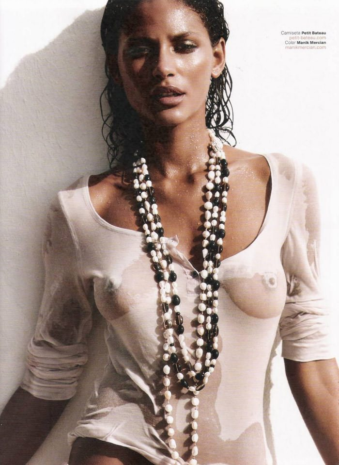 Emanuela De Paula by Gavin Bond for GQ Brazil