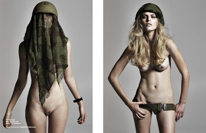 """""""Flesh, Flags, Fatigues"""" by Tiziano Magni"""