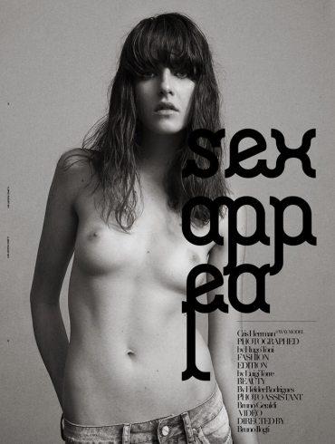 Cristina Herrmann by Hugo Toni for U Mag