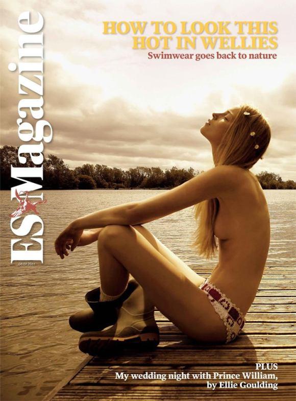 Isabeau Hitijahubessy by Nicole Nodland for ES Magazine
