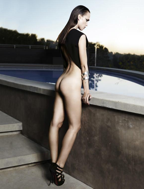 Masha Rudenko by Kate Martin for Flaunt
