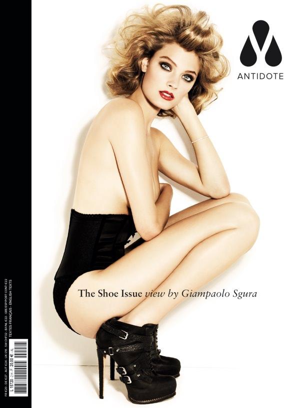 Constance Jablonski by Giampaolo Sgura for Magazine Antidote