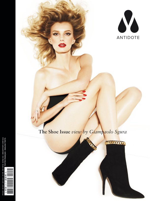 Sigrid Agren by Giampaolo Sgura for Magazine Antidote