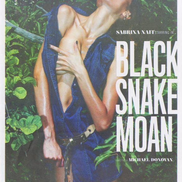 Sabrina Nait by Michael Donovan for LoveCat Magazine