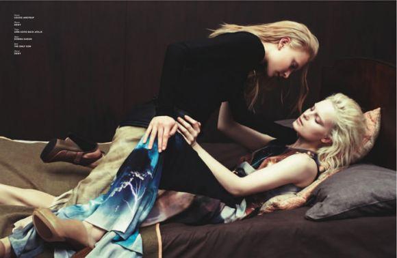 Ollie Henderson & Charlotte Tomaszewska by Markn for SVA