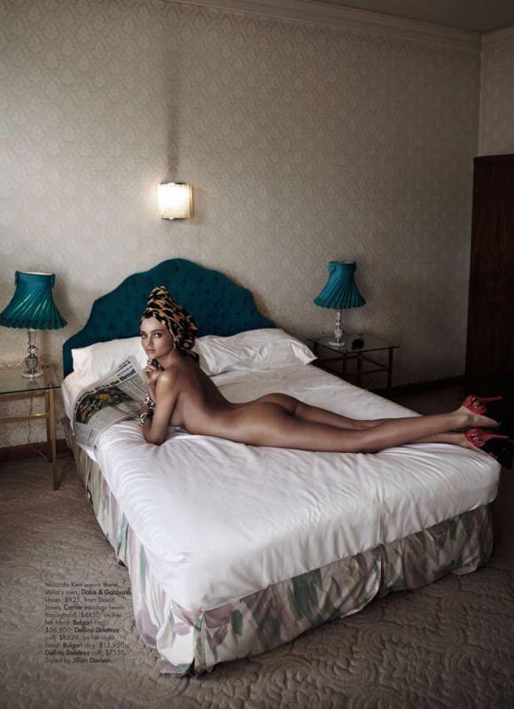 Miranda Kerr by Simon Lekias for Harper's Bazaar Australia