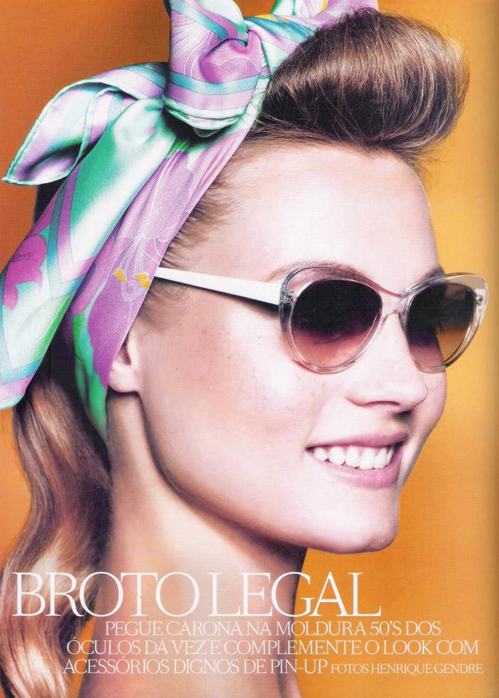 Charlotte di Calypso by Henrique Gendre for Vogue Brasil