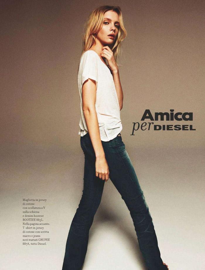 """""""Amica Per Diesel"""" by Matteo Montanari for Amica Italia"""