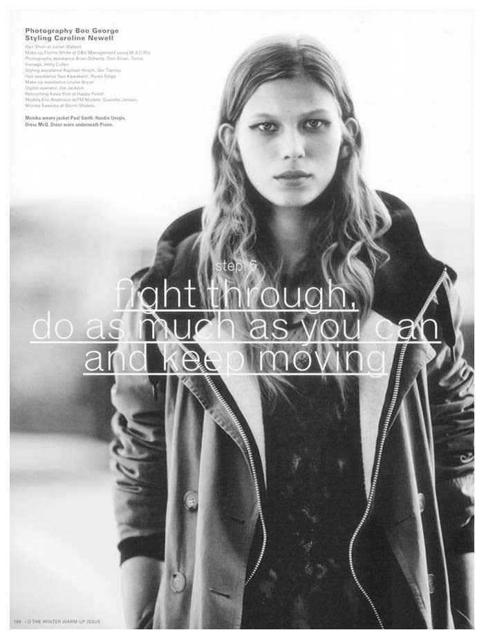 Monika Sawicka by Boo George for i-D