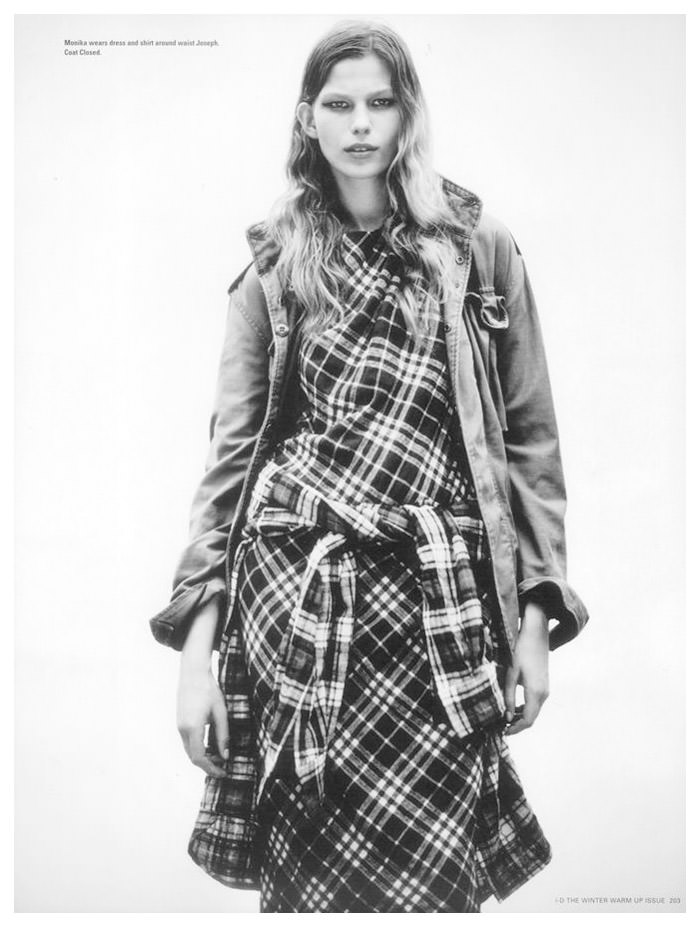 Monika Sawicka by Boo George for i-D Magazine