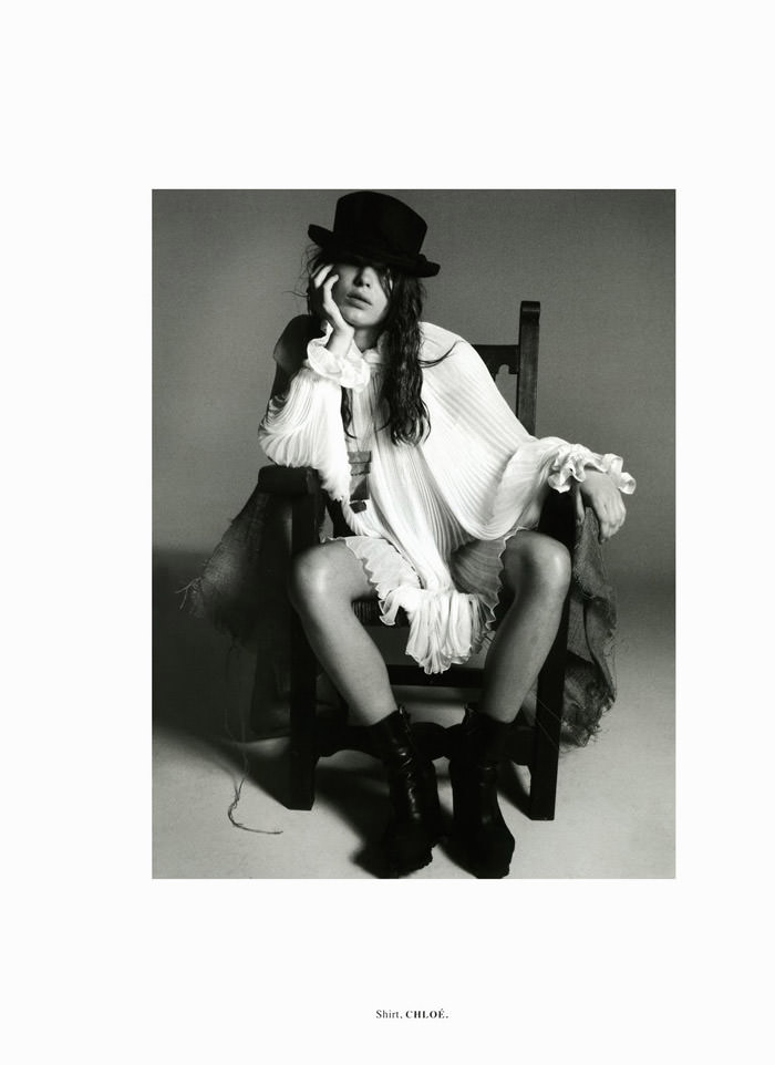 """Bambi Northwood-Blyth photographed by Dan Martensen in """"The Secret Meaning Of Things"""" for Dossier Journal, Fall 2011"""