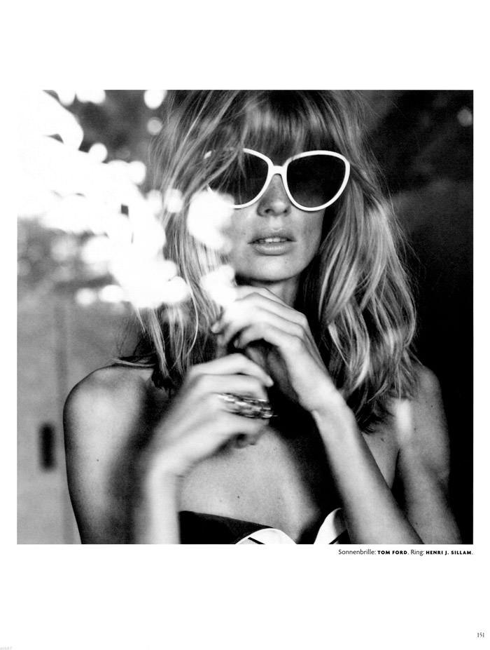 Julia Stegner by Greg Kadel for Vogue Germany