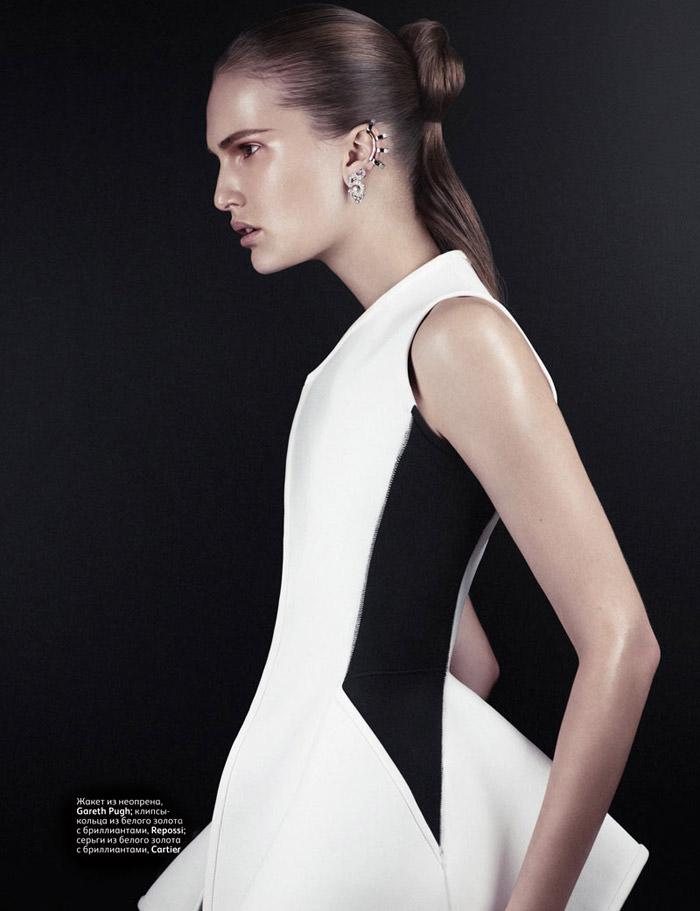 Alla Kostromicheva by Emma Tempest for Vogue Russia