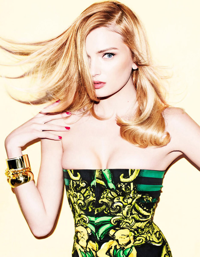 Lily Donaldson by Matt Irwin for Muse