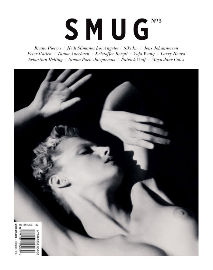 Cover: Amanda Nørgaard photographed by Joachim Johnson for Smug Nº5, Spring & Summer 2012