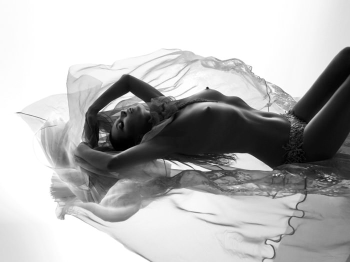 Kate Moss photographed by Nick Knight for Another Man (Collector's Edition), Spring & Summer 2012