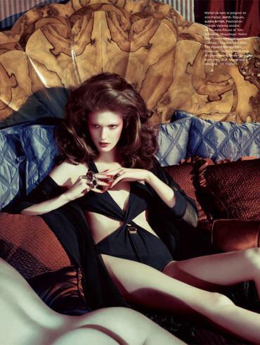 Kendra Spears by Sebastian Kim for Numero