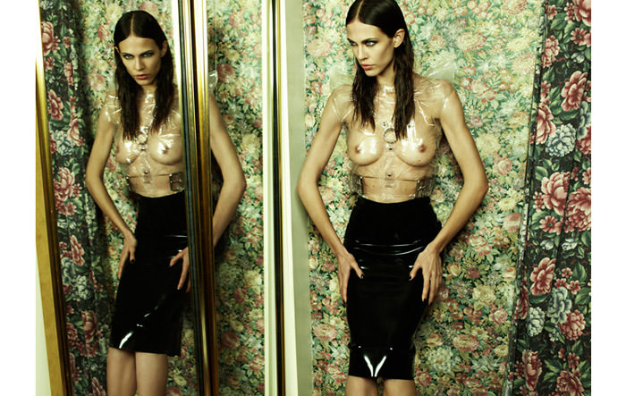Aymeline Valade by Emma Summerton for Fat Magazine