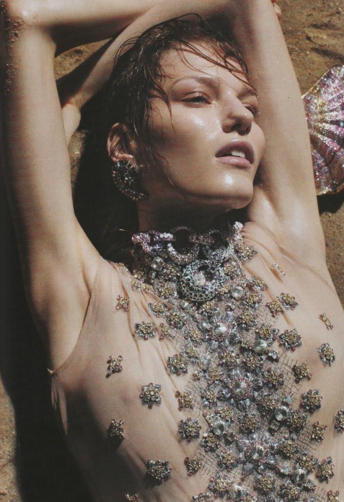 Marique Schimmel by Benny Horne for Harper's Bazaar Australia