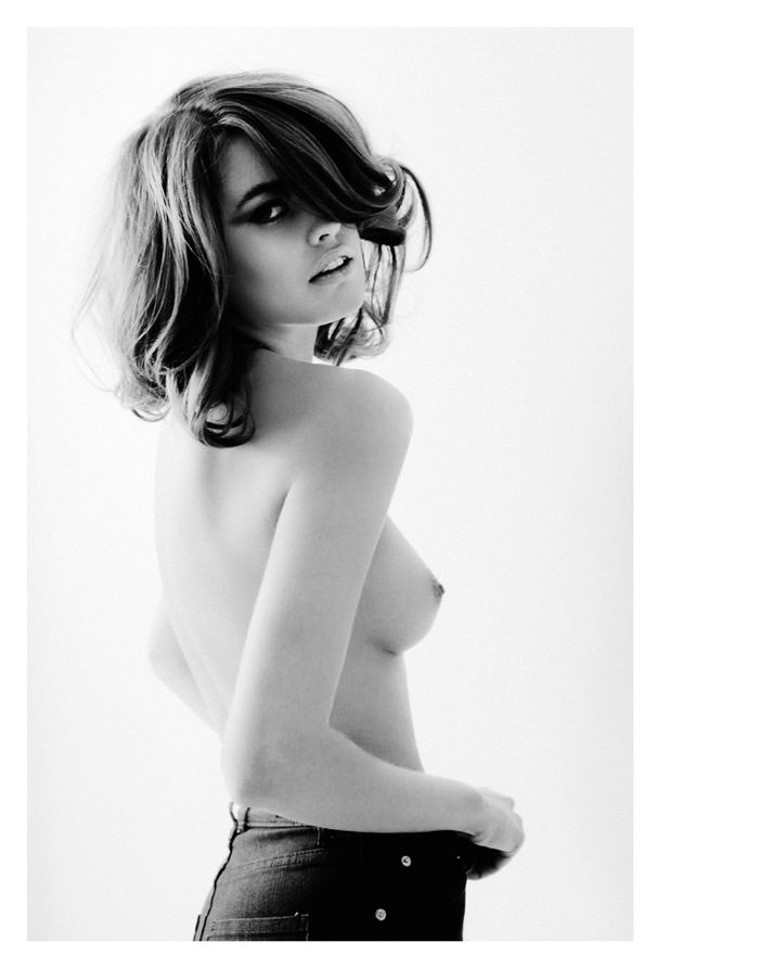 Rebecca by Niclas Brunzell for Fashionography