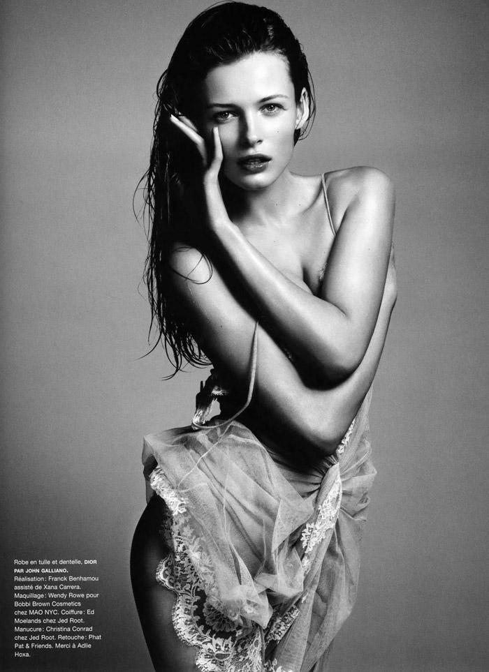 "Flashback: ""Jeunes Filles En Fleurs"" by Camilla Akrans for Numéro #93, May 2008"
