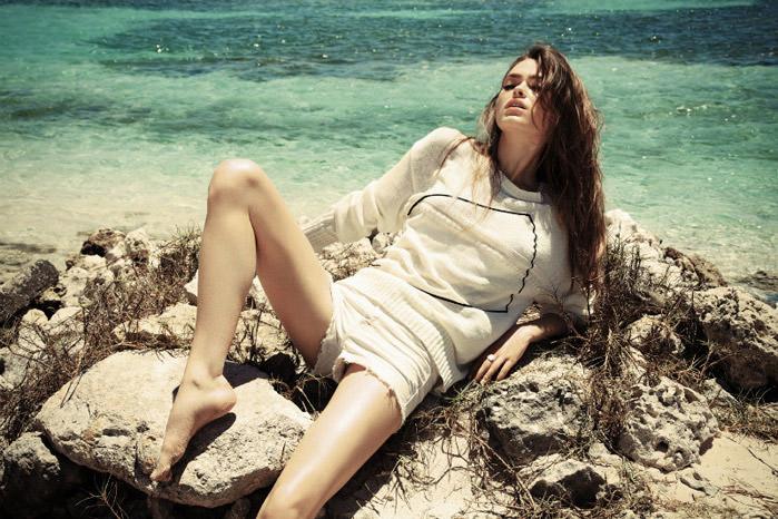 Sophie Vlaming by Richard Bernardin for Grazia France