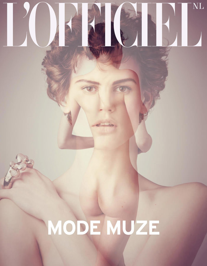 Saskia de Brauw covers L'Officiel Netherlands, May 2012