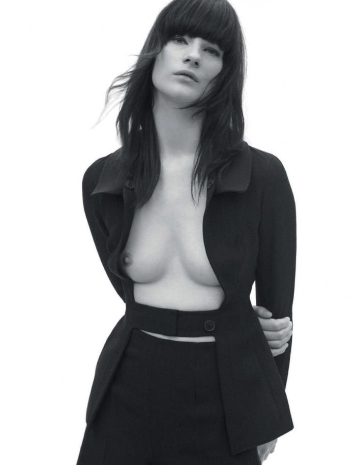 Querelle Jansen photographed by Gregory Derkenne for L'Officiel Holland, March 2012
