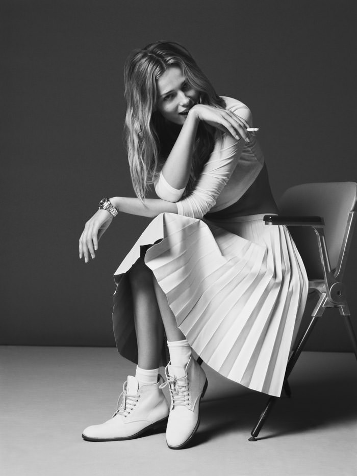 Edita Vilkeviciute by Ben Weller for Twin Magazine