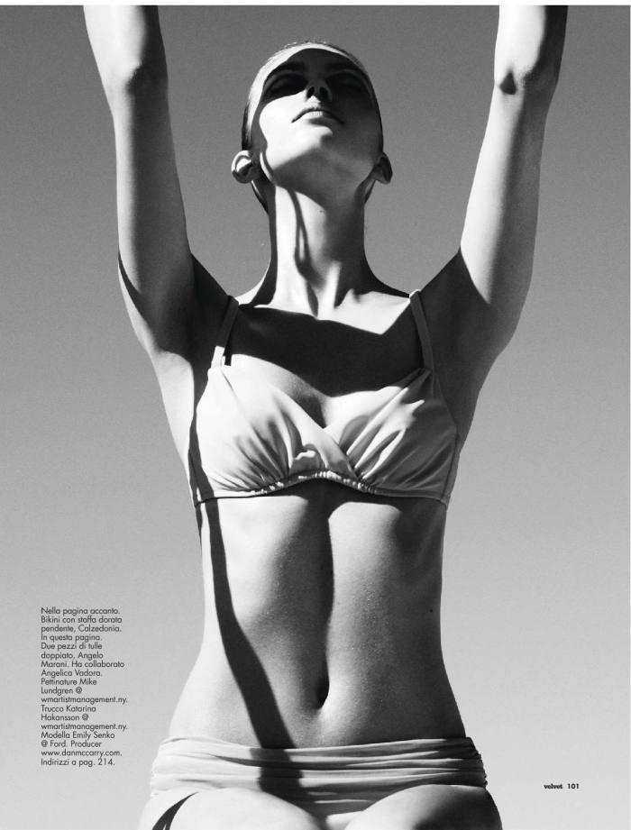 Emily Senko by Marcus Ohlsson for Velvet