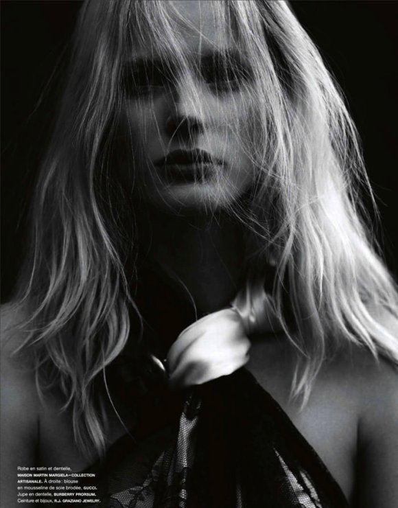 Anne Vyalitsyna by Ben Hassett for Numero