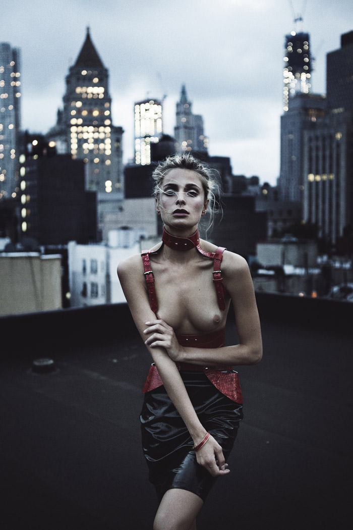 Anouk Van Kleef by Paul Morel for Fashionography