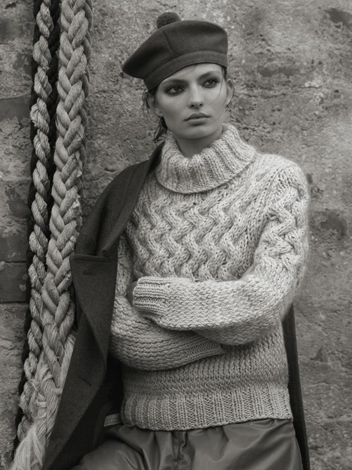 Carola Remer photographed by Ben Weller for UK Harper's Bazaar