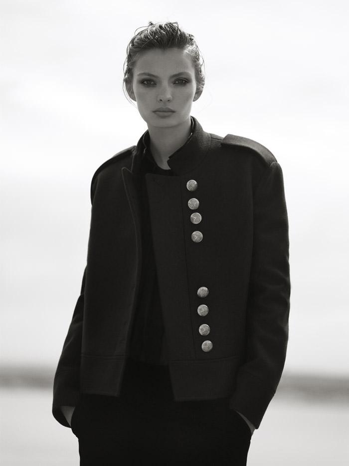 Carola Remer photographed by Ben Weller for Harper's Bazaar UK, November 2012