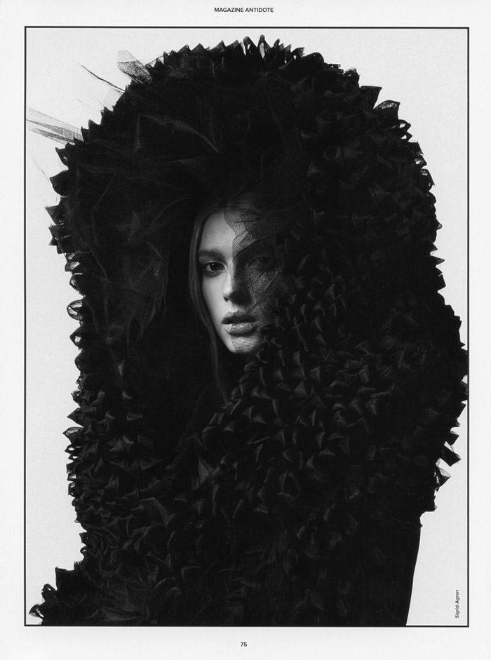 Sigrid Agren by Txema Yeste for Antidote Magazine