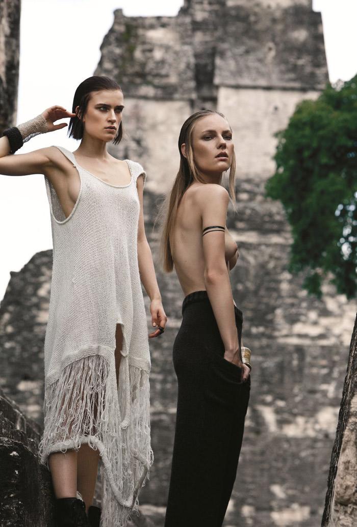 El Fin Del Mundo by Santiago Ruisenor for Elle Mexico