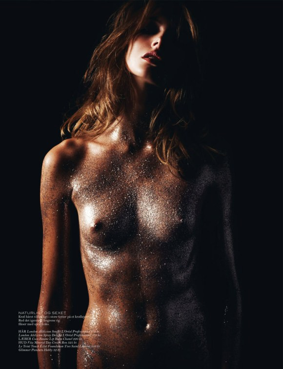 Mona Johannesson by Hasse Nielsen for Cover Magazine