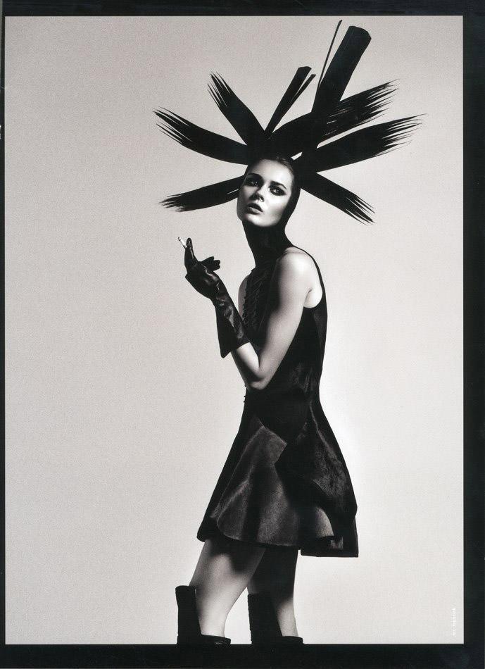 Monika Jagaciak by Txema Yeste for Magazine Antidote