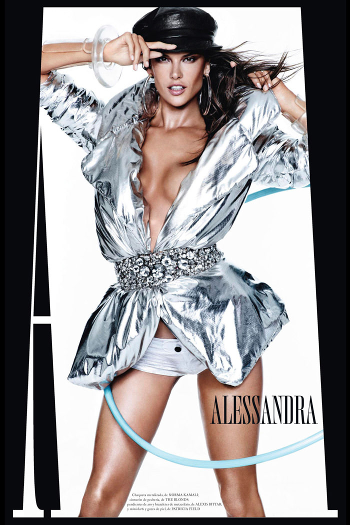 Alessandra Ambrosio by Mario Testino for Vogue Spain