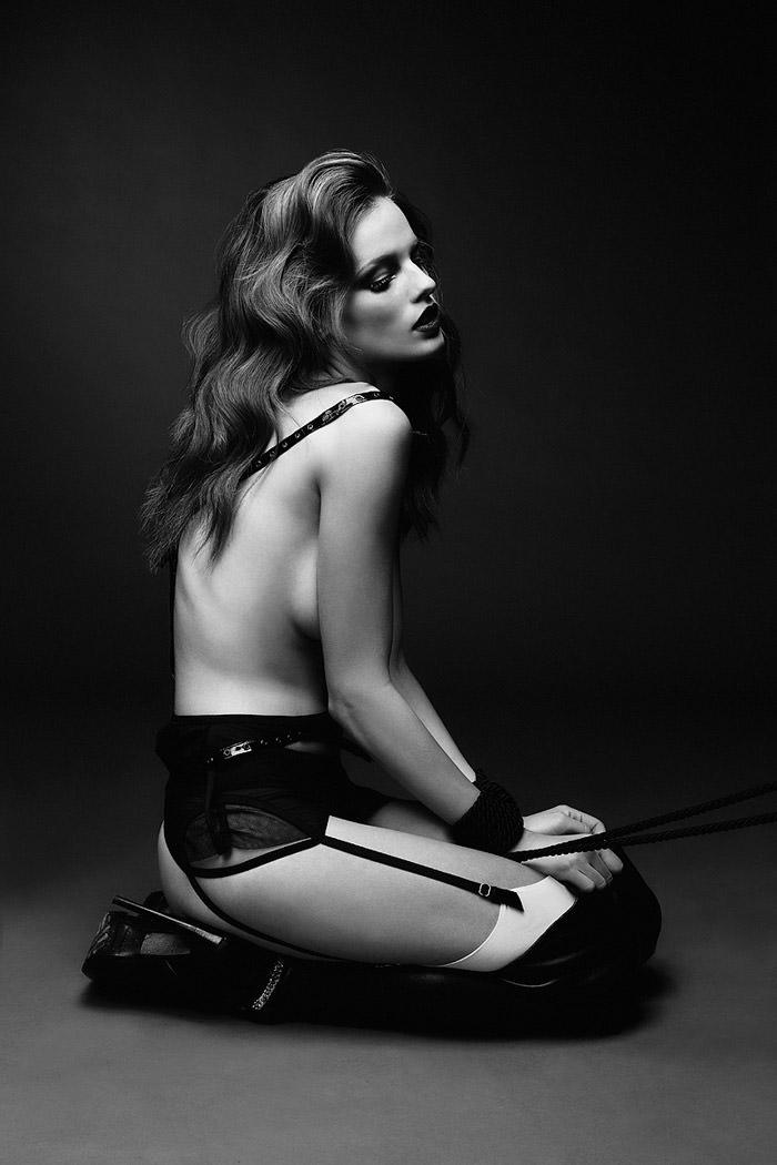 Stefani Sober by Julia Kiecksee for Superior Magazine