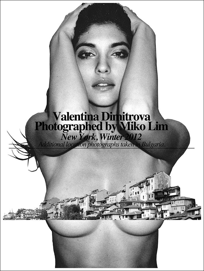 Valentina Dimitrova by Miko Lim for Fashionography