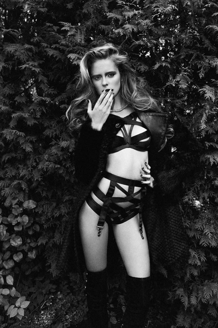 Charlotte Cardin-Goyer & Masha Markina by Richard Bernardin for Dress To Kill Magazine