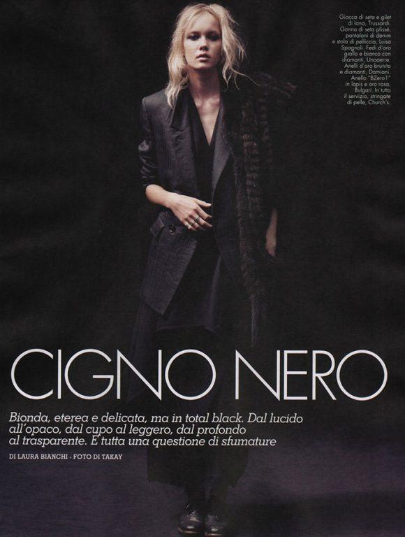 Daria Popova by Takay for Velvet Magazine