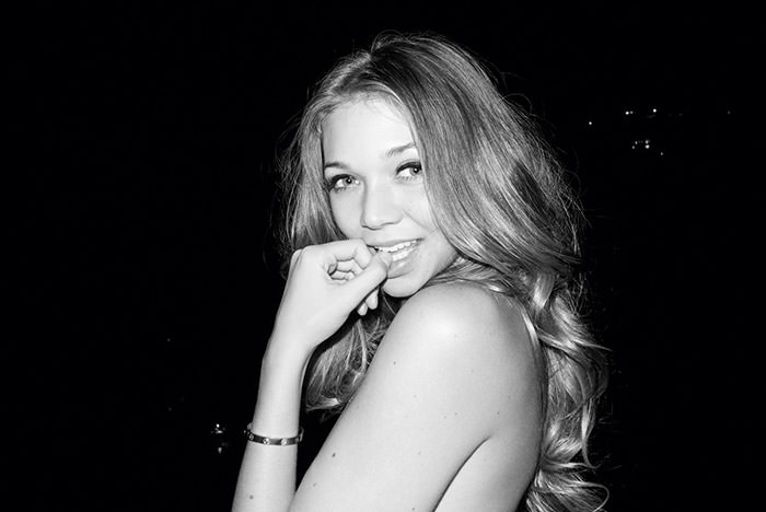 Jessie Andrews by Terry Richardson for Purple