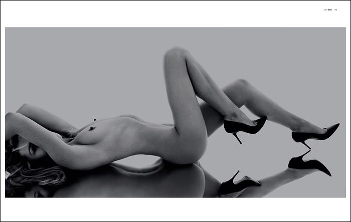 Abbey Clancy by Rankin for Hunger Magazine