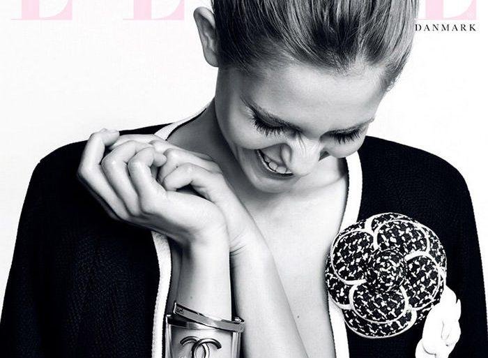Nadja Bender covers Elle Denmark
