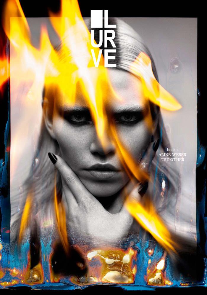 Aline Weber by Tetsuharu Kubota for Lurve Magazine