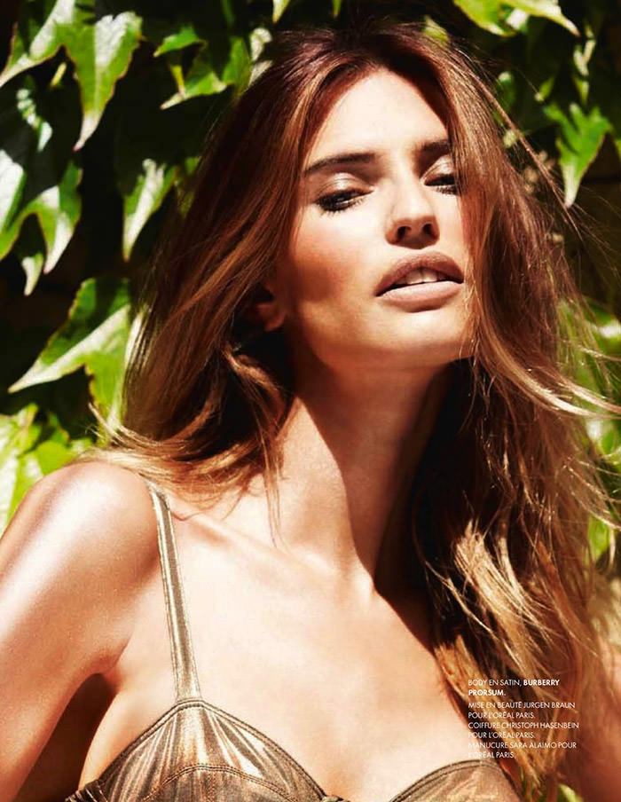 Bianca Balti by Marcin Tyszka for Elle France