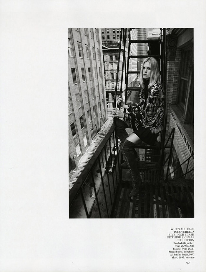 Iselin Steiro by Josh Olins for Vogue UK